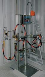 Оборудование для заправки бытовых газовых баллонов